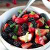 Easy Berry Fruit Salad