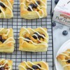 Peach Blueberry Mini Tart