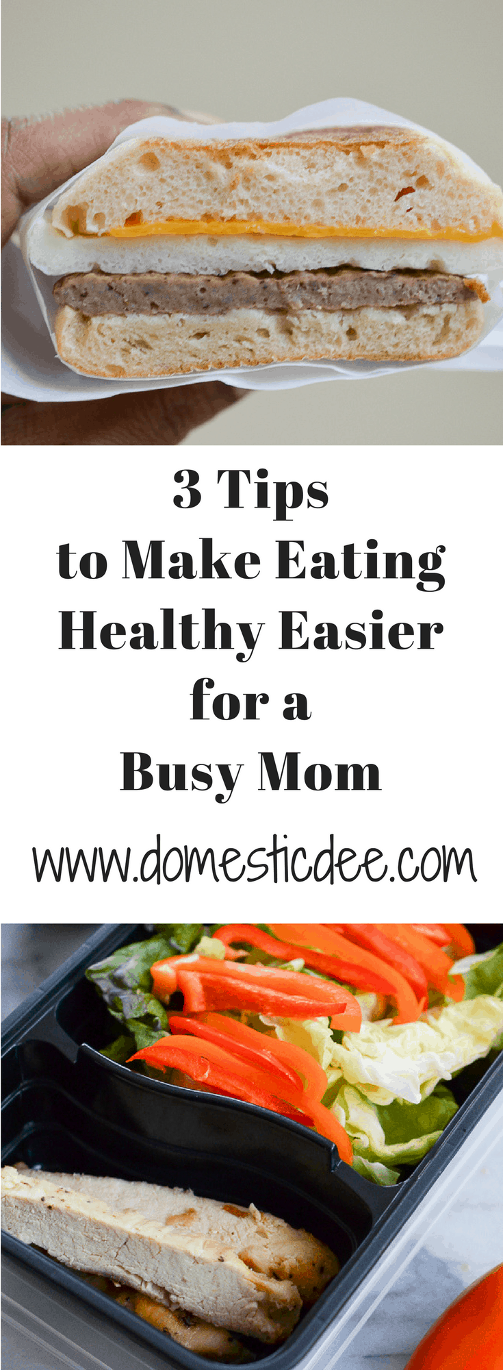 3 Tips to Make Eating Healthy Easier for a Busy Mom #busymom #betterforyou