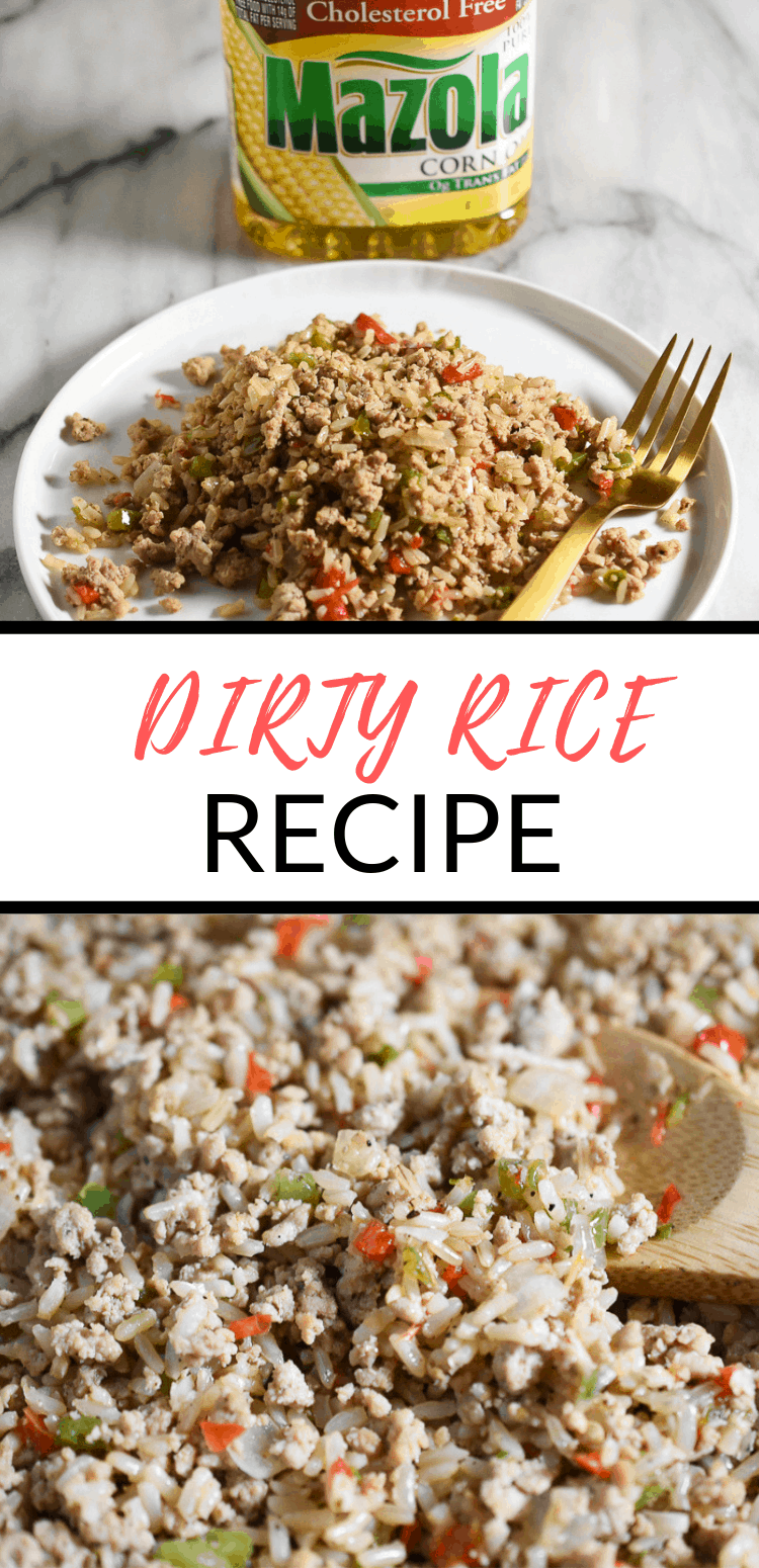 dirty rice with ground turkey