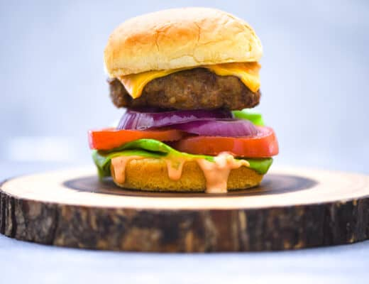 air fryer turkey burger